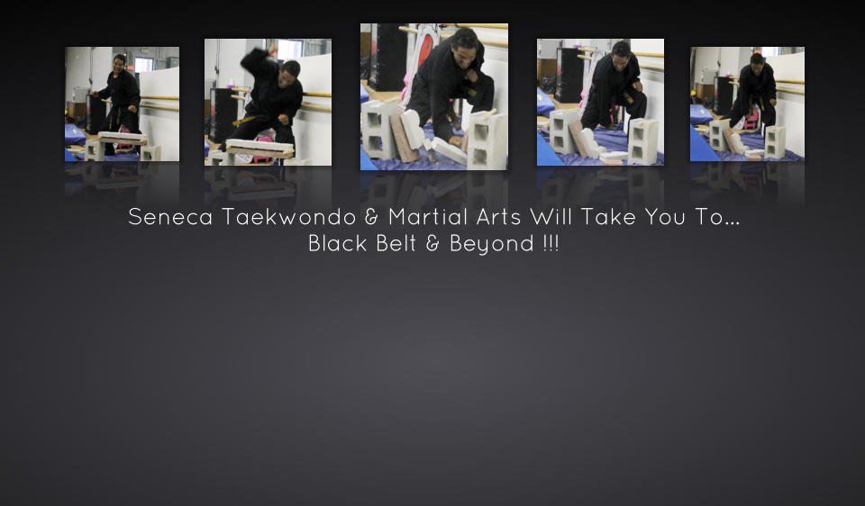 Seneca Taekwondo & Martial Arts Will Take You To… Black Belt & Beyond !!!